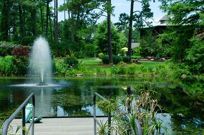 Weekend Getaways in North Carolina Fayetteville Cape Fear Botanical Garden