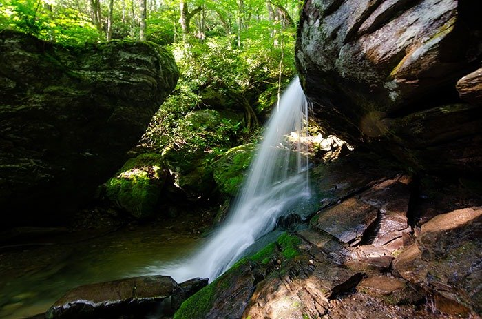 Weekend Getaways in North Carolina Otter Falls High Country