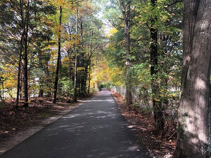 Atlantic and Yadkin Greenway near Guilford Courthouse Greensboro NC