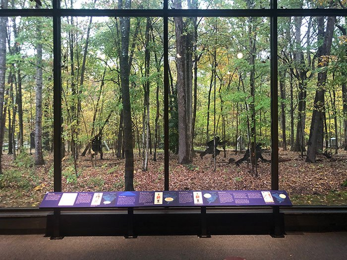 This exhibit is one of my favorite ways to learn about the Battle of Guilford Courthouse!