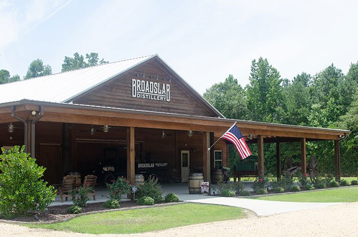 Day Trips from Greensboro NC Broadslab Distillery Johnston County