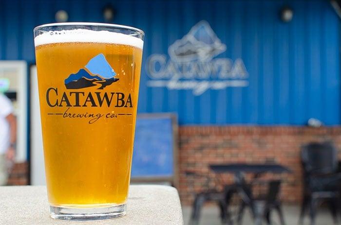 Day Trips from Greensboro NC Catawba Brewing Morganton