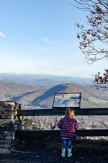 Day Trips from Greensboro NC Mount Jefferson State Natural Area