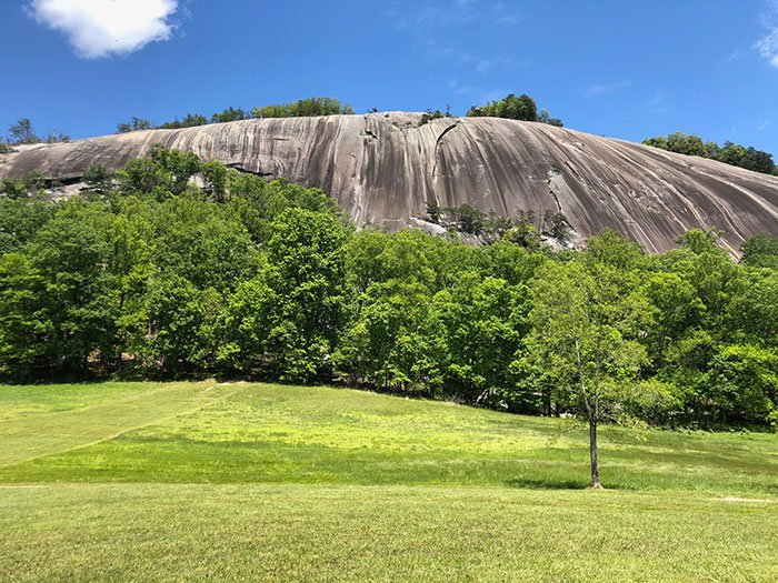 Day Trips from Greensboro NC Stone Mountain State Park