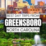 Day Trips from Greensboro Pin