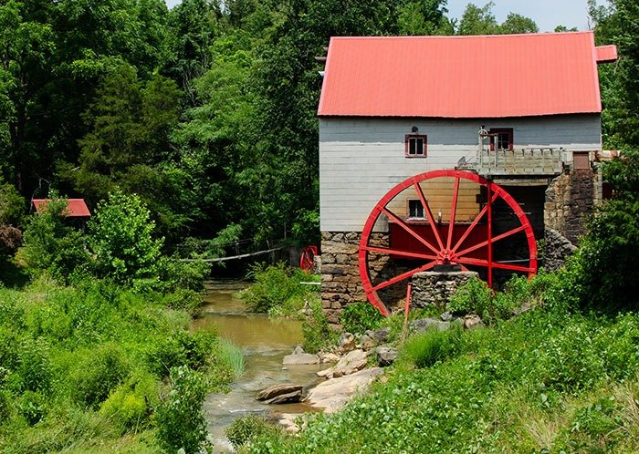 You might see the Old Mill of Guilford while on the way to one of these day trips from Greensboro.