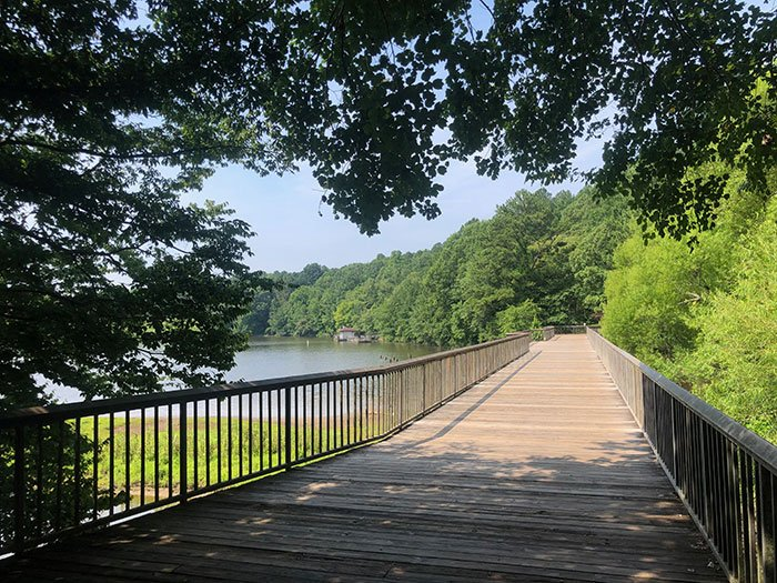 The Shelley Lake Park Trail is an amazing loop!