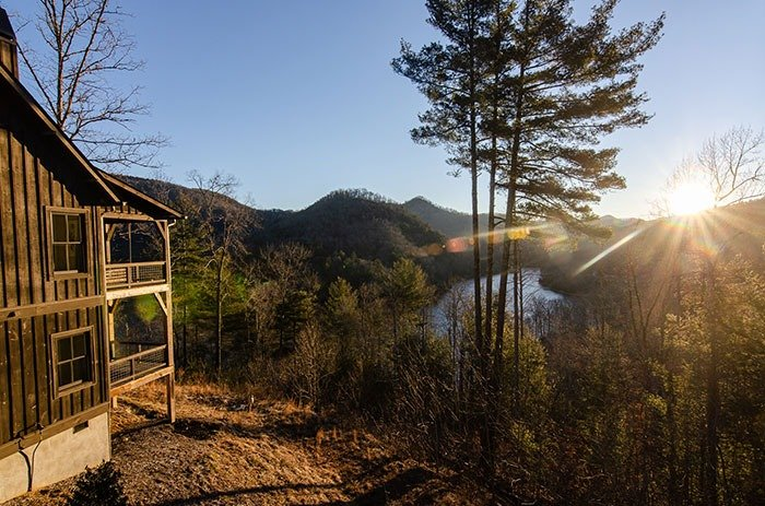 The Views at Bear Lake Reserve are a huge part of why we endorse this NC mountains getaway.