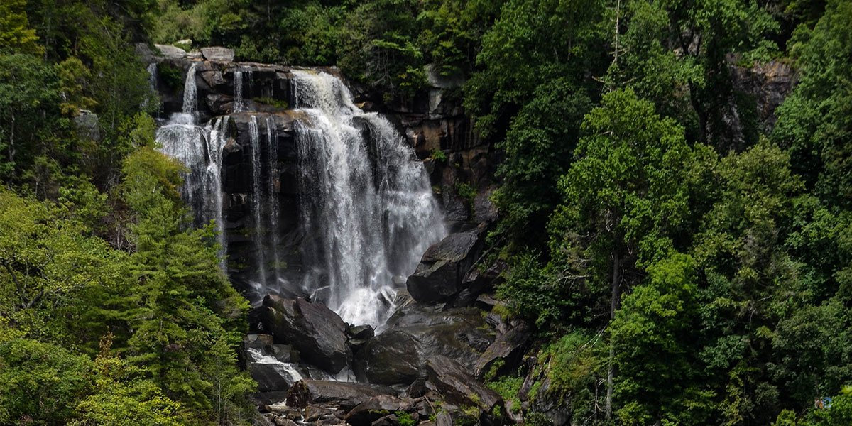Waterfalls near Brevard NC