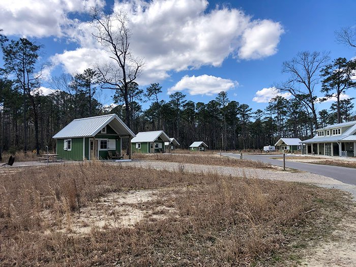 Goose Creek State Park Cabin Campground