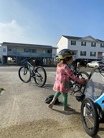 Holden Beach Bike Riding