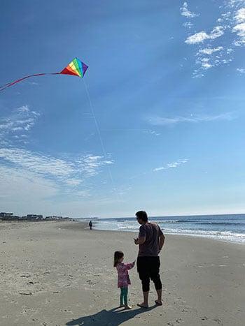 Holden Beach North Carolina Kite Flying