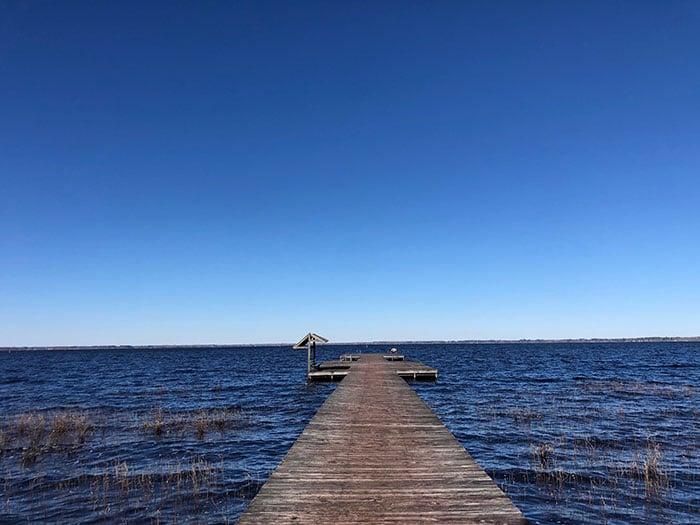 Lake Waccamaw State Park in Southeastern NC
