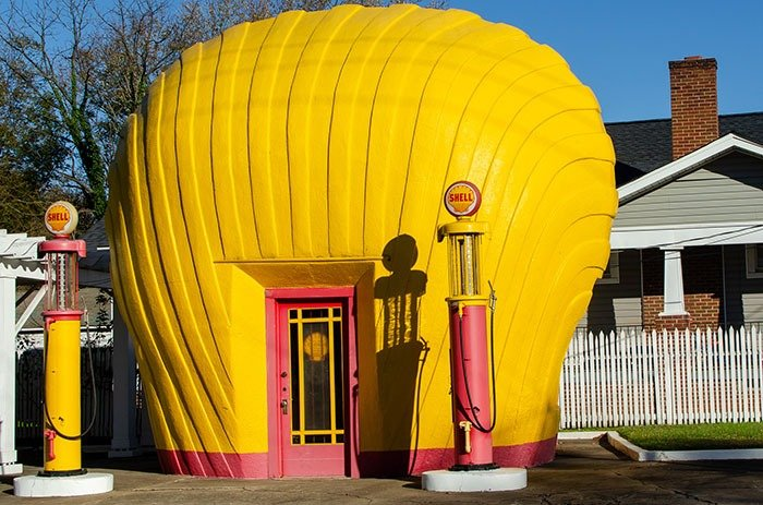 Museums in Winston Salem NC Shell Station