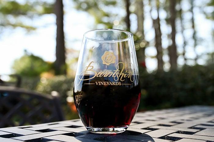 North Carolina Wineries Burntshirt Vineyards Hendersonville NC