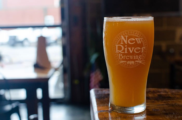 North Carolina mountain towns New River Brewing West Jefferson Ashe County