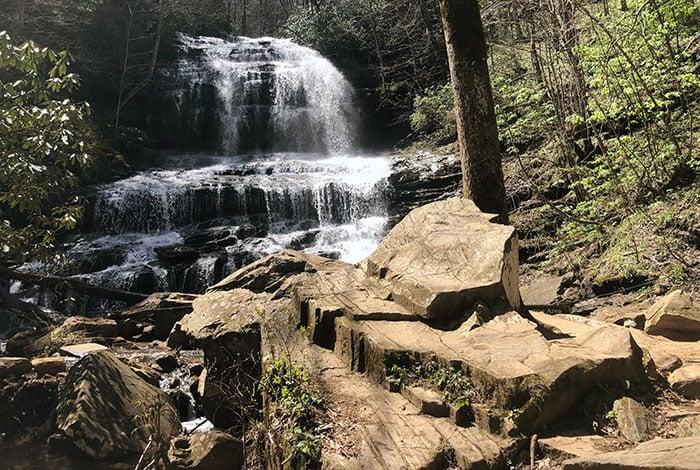 Pearsons Falls near Saluda NC Mountain Towns