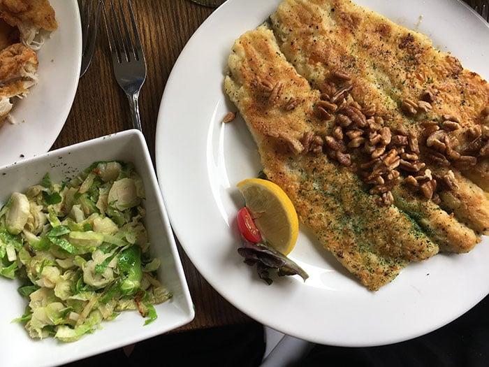 Switzerland Inn Food at the Chalet Restaurant