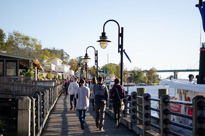Wilmington NC Riverwalk