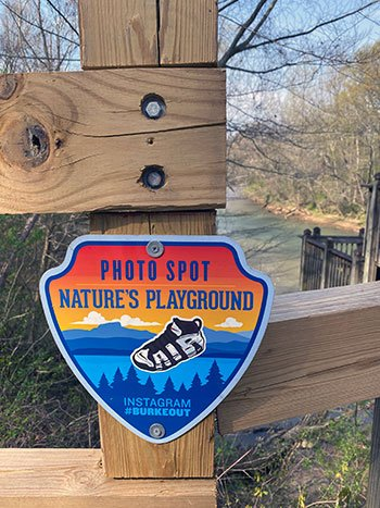 Catawba River Greenway Photo Spots by Discover Burke County