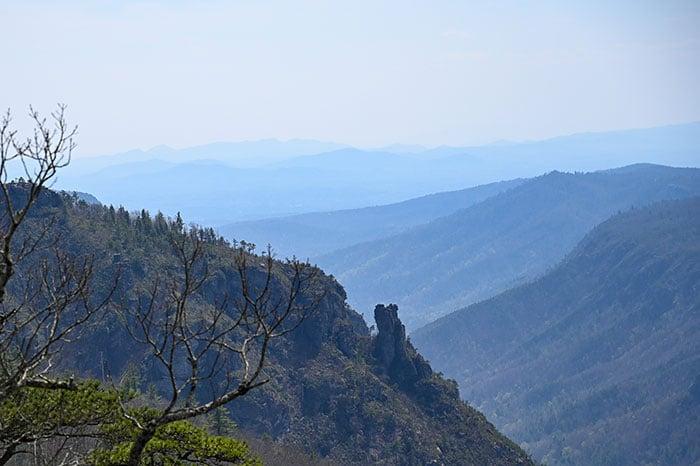 Chimneys Table Rock Mountain