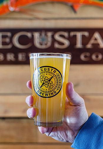 Ecusta Brewing in Brevard NC