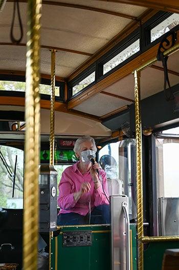 Edenton Trolley tour