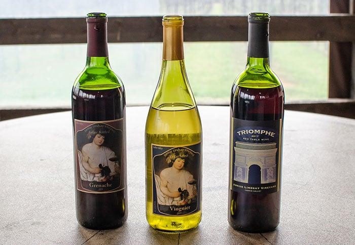 Junius Lindsay Yadkin Valley Wineries