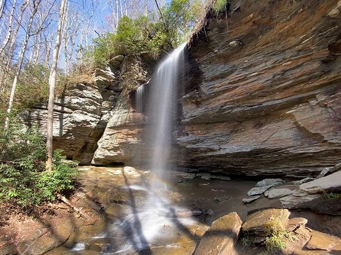 Moore Cove Falls Brevard NC