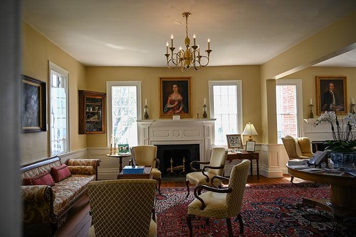 Penelope Barker House inside