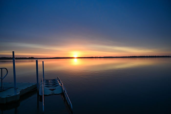 Sunrise in Swansboro NC