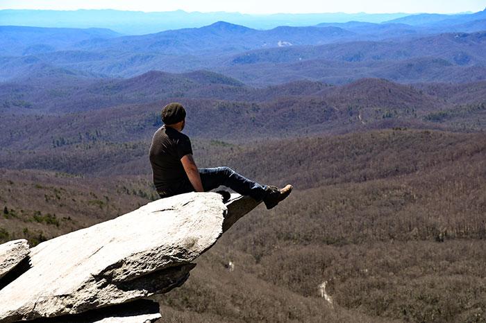 Trevor rough ridge hike