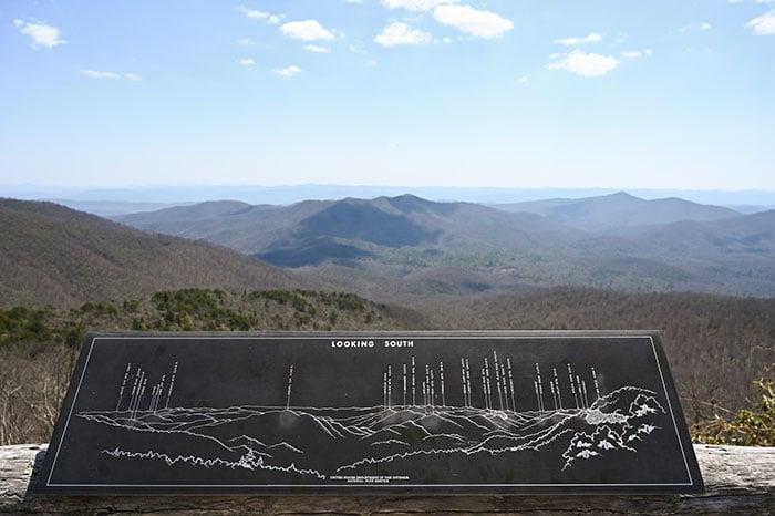 View from the Pisgah Inn Blue Ridge Parkway