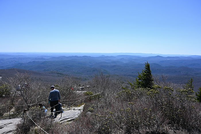 Views from the top of Rough Ridge