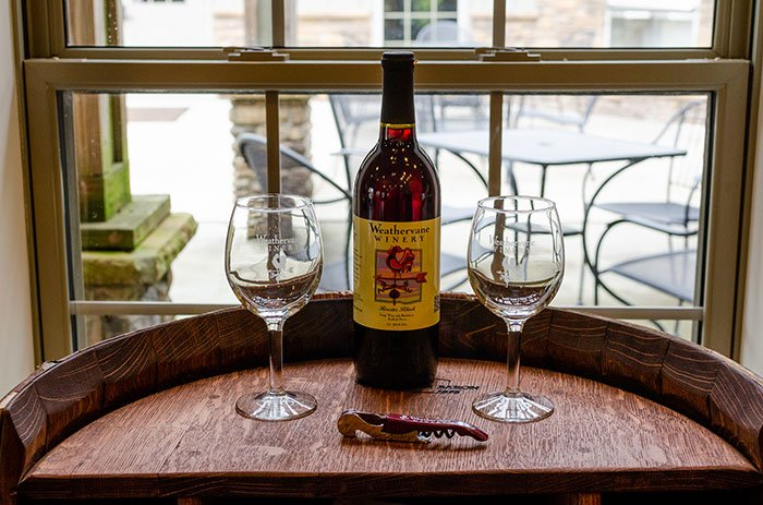 Yadkin Valley Wineries Weathervane Lexington NC