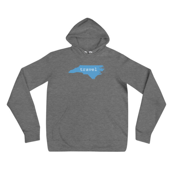 unisex pullover hoodie deep heather front 607721a741366
