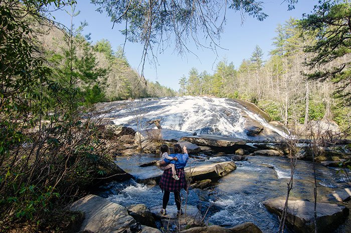 Bridal Veil Falls DuPont State Forest NC