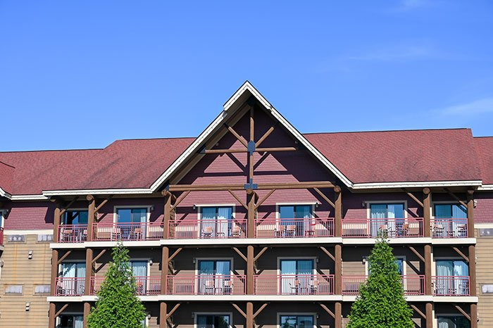 Great Wolf Lodge Exterior.