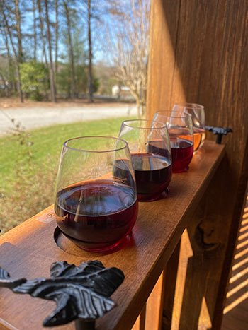 Kid Friendly North Carolina Wineries Adagio Vineyards