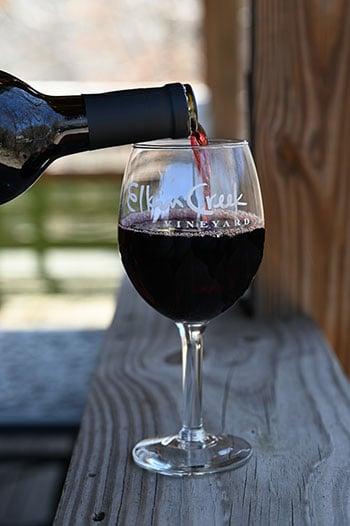 Kid Friendly North Carolina Wineries Elkin Creek Vineyards