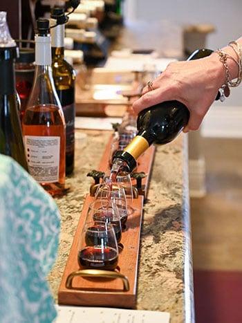 Kid Friendly Wineries in North Carolina Adagio Vineyards