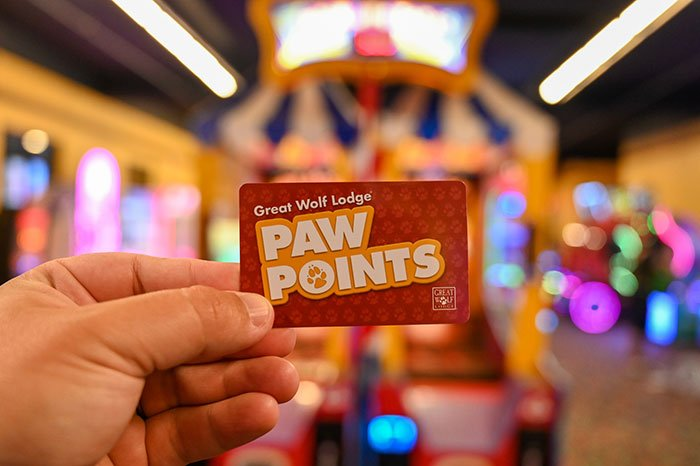Paw points Great Wolf Lodge Concord NC