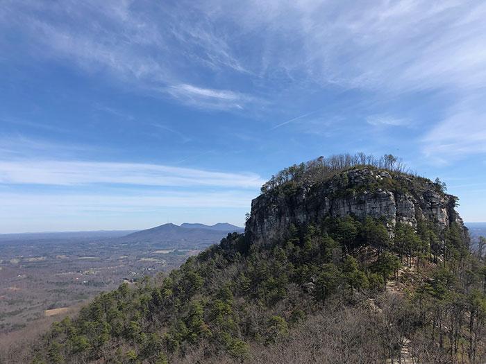 Pilot Mountain near Hanging Rock State Park NC