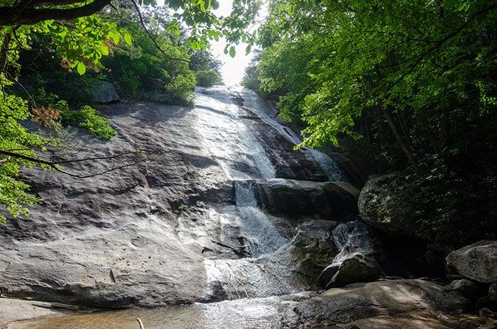 Stone Mountain Falls.