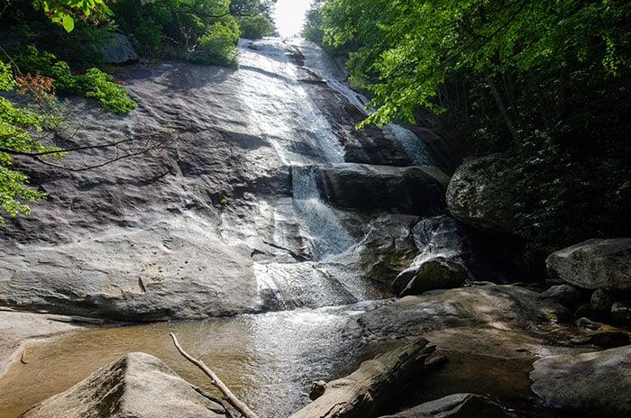 Stone Mountain Falls North Carolina