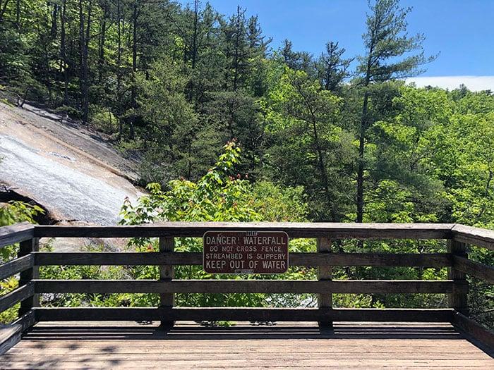 Stone Mountain Falls Viewing Platform