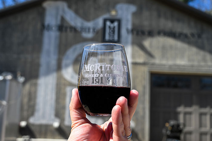 Surry County Wine Trail McRitchie