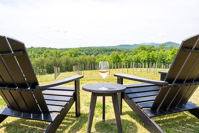 Surry County Wine Trail Serre Vineyards Yadkin Valley