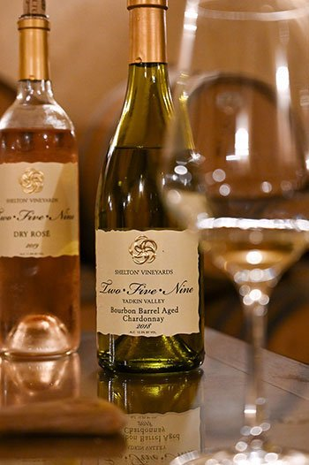 Surry County Wine Trail Shelton Vineyards Yadkin Valley