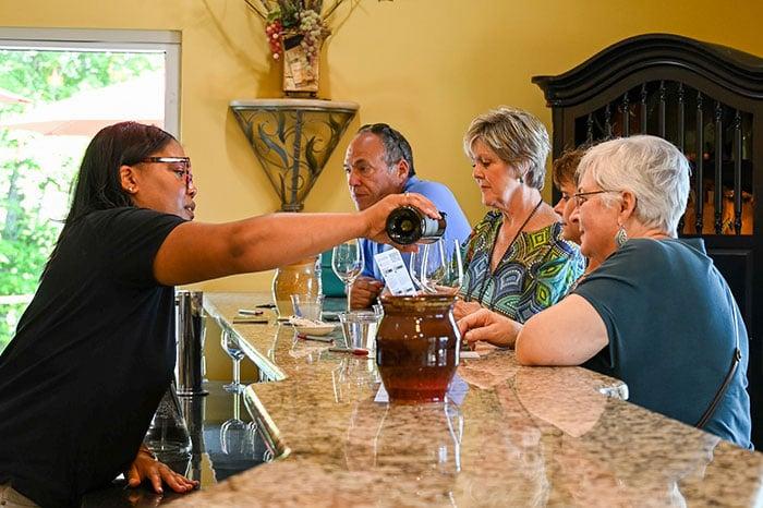 Surry County Wine Trail jones von drehle winery